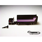 WST  Worlds Smallest Transformers - Loose - Black Optimus Prime and Trailer