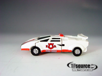 WST Worlds Smallest Transformers - Loose - Red Alert - 100% Complete