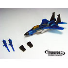 WST  Worlds Smallest Transformers - Loose - Clear Thundercracker
