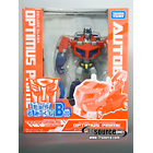 Japanese Transformers Animated - Family Mart Prize B - Earth Mode Optimus Prime