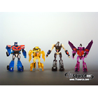 Japanese Transformers Animated - Family Mart Prize D - EZ Collection Set of 4