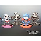Japanese Transformers Animated - Family Mart Prize E - Mini Display Set