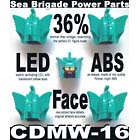 CDMW-16 Sea Brigade Power Parts - Custom LED Head