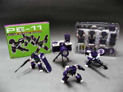 PE-11 - Perfect Effect - SFX Scouting Force X - Camera Set