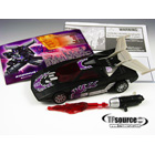 Botcon 2008 - Shattered Glass Rodimus - Loose - 100% Complete