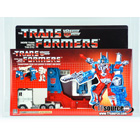 Transformers G1 - Boxed - Ultra Magnus Rubber Tires- AFA 85 85U