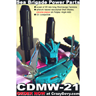 CDMW-21 Sea Brigade Power Parts - Stormsurge Cannons and Blades