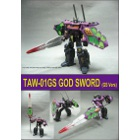 TAW-01GS TAW God Sword - Shattered Glass Version