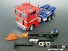 Masterpiece - 20th Anniversary Optimus Prime - Loose - 100% Complete
