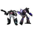 Transformers United - Tokyo Toy Show - Black Version Optimus Prime & Megatron - MIB - 100% Complete