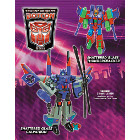 Botcon 2011 - Souvenir Exclusive Set - Shattered Glass Galvatron & Thundercracker