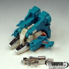 Transformers G1  - Topspin - Loose - 100% Complete