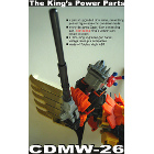 CDMW-26 - The Kings Power Parts - Mane and Gun Barrel Set