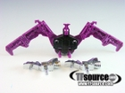 Transformers G1 - Ratbat w/ Silver Weapons - Cassette Tape - Loose - 100% Complete