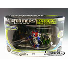 DOTM - Battle in the Moonlight - Cyberverse Optimus & Ratchet vs. Crankcase