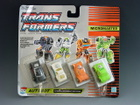 Transformers G1 - Carded - Micromaster Hot Rod Patrol - MOSC!