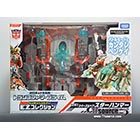 Japanese Transformers Prime - EZ-10 - Wheeljack with Spaceship