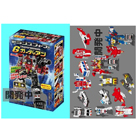 Kabaya Convoy Assortment Gaia Guardian - Candy Toys Assorted Box of 10 Figures