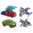 Cyberverse Commander Series 01 - Robots in Disguise - Set of 4 with DVD