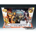 Transformers Prime - Entertainment Pack - Starscream vs. Bumblebee
