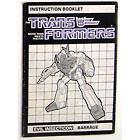 Instruction Manual - Barrage - Grade A