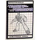 Instruction Manual - Barrage - Grade B