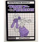 Instruction Manual - Battletrap - Grade A