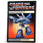 Instruction Manual - Bluestreak - Grade B