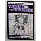 Instruction Manual - Blitzwing - Grade B