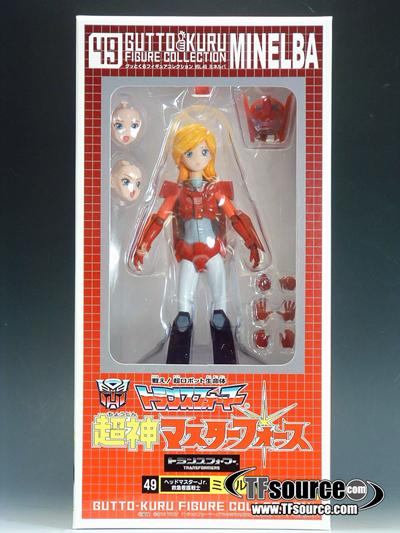 Gutto Kuru Figure Collection 49 - Transformers Masterforce - Minerva Minelba