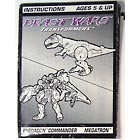 Instruction Manual - Megatron - Beast Wars - Grade B