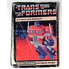 Instruction Manual - Optimus Prime - Grade C
