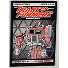 Instruction Manual - Optimus Prime G2 - Grade A