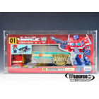 Lucky Draw - Transformers G1 Reissue - Gold Wheels Convoy Optimus Prime - AFA 85