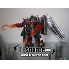 Custom - Movie Leader Class Optimus Prime - Hooks - Clear Version