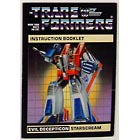 Instruction Manual - Starscream - Grade B