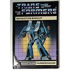 Instruction Manual - Thundercracker - Grade B