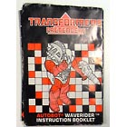 Instruction Manual - Waverider - Grade B
