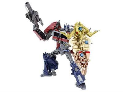 Japanese Transformers Prime - AM-01 - Exclusive Battle Shield Optimus Prime