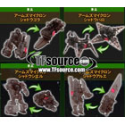 Japanese Transformers Prime - Shadow Arms Micron - Store Exclusive - Set of 4