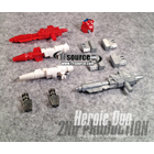 Generations Red Alert Classics Sideswipe - Heroic Duo - Custom Kit