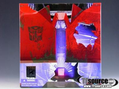 SDCC 2012 Exclusive - Transformers Prime - Rust In Peace Cliffjumper - MISB