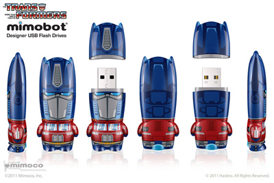 Mimobots - Optimus Prime - USB Flash Drive - 8GB