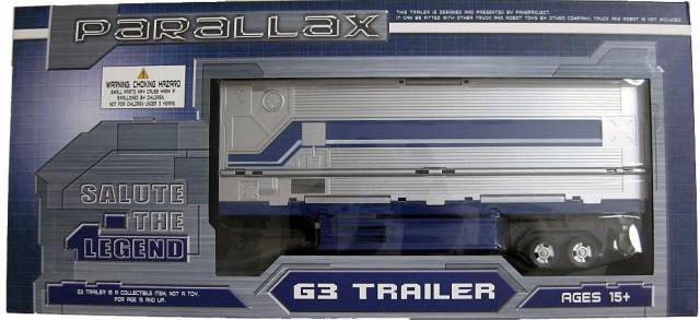 Classics - Classics G3 Trailer Set - by Fansproject - MIB - 100% Complete
