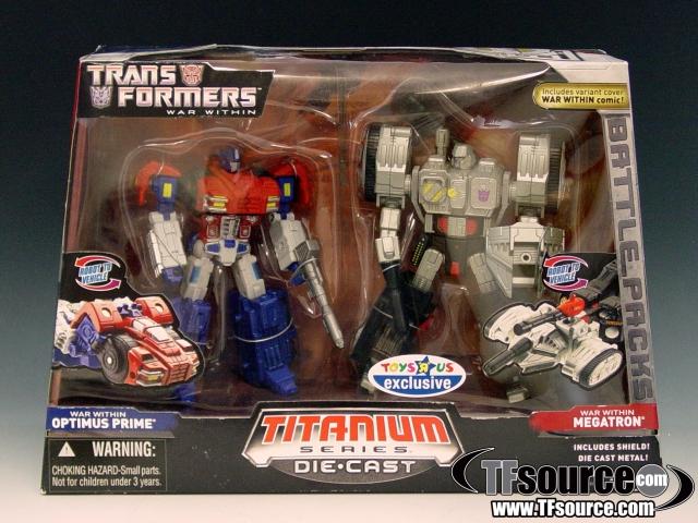 Titanium - War Within Optimus Prime vs. War Within Megatron - MISB