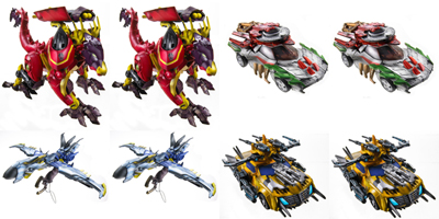 Beast Hunters - Transformers Prime - Deluxe Wave 01 - Factory Sealed Case