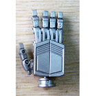 UFO Posable Hands - Premium Painted Silver Version