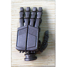 UFO Posable Hands - Premium Painted Dark Grey Version