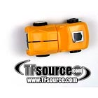 G1 Loose - Minispy - Yellow Porsche