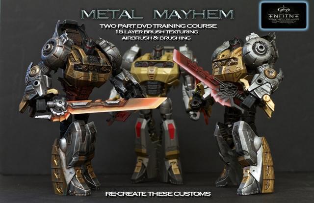 Encline Designs - Customizing Instructional DVD - Vol 02 - Metal Mayhem